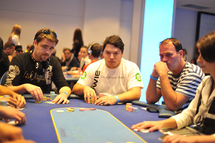 Erol from team PokerSnowie in the money at the Battle of Malta